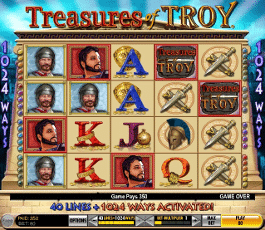 caca niquel treasures of troy gratis