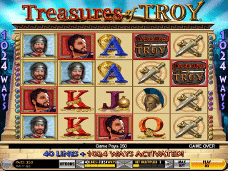 caca niqueis treasures of troy